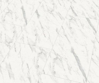 Ламинат Wineo Мрамор Carrara Глянцевый - купить в «Начни Ремонт» интернет-магазин — продажа напольных покрытий.
