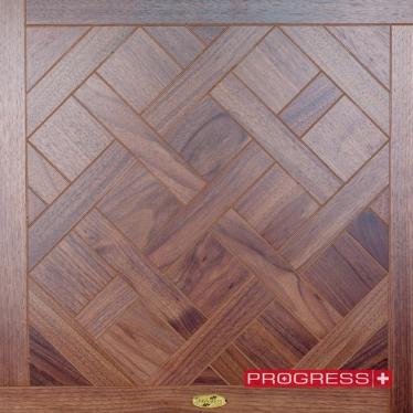 Модульный паркет Progress Виамала 3 орех натур - купить в «Начни Ремонт» интернет-магазин — продажа напольных покрытий. - 4