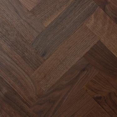 Штучный паркет Magestik floor Орех Американский Селект без покрытия - купить в «Начни Ремонт» интернет-магазин — продажа напольных покрытий.