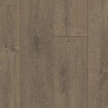 Виниловый ламинат Quick-Step Дуб бархатный коричневый 40160 - купить в «Начни Ремонт» интернет-магазин — продажа напольных покрытий.