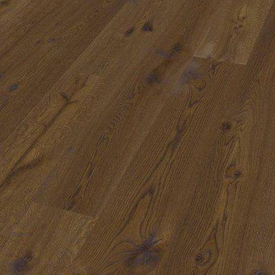 Инженерная доска Hain Oak used look rustic terrabrown oiled