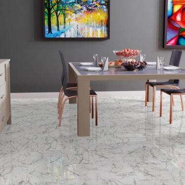 Ламинат Falquon Carrara Marmor D2921 - купить в «Начни Ремонт» интернет-магазин — продажа напольных покрытий. - 1
