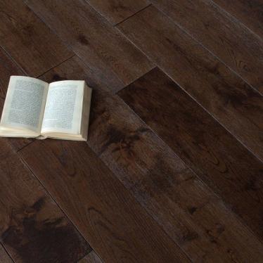 Массивная доска Magestik floor Дуб Бренди - купить в «Начни Ремонт» интернет-магазин — продажа напольных покрытий. - 4