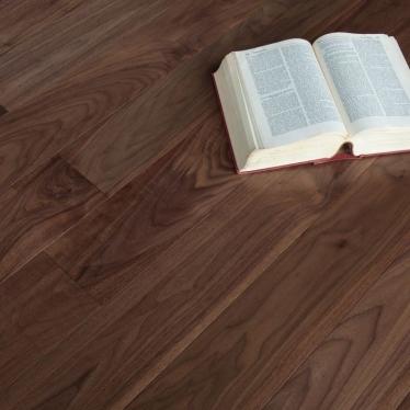 Массивная доска Magestik floor Орех Американский Селект - купить в «Начни Ремонт» интернет-магазин — продажа напольных покрытий. - 5