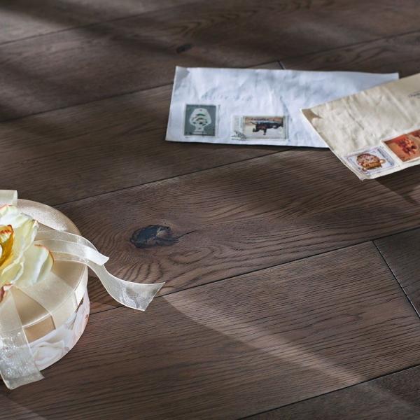 Массивная доска Parketoff Дуб Эвора - купить в «Начни Ремонт» интернет-магазин — продажа напольных покрытий.