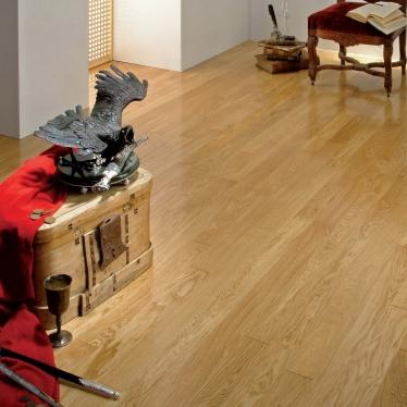 Паркетная доска Coswick Дуб Натуральный Кантри - купить в «Начни Ремонт» интернет-магазин — продажа напольных покрытий. - 8