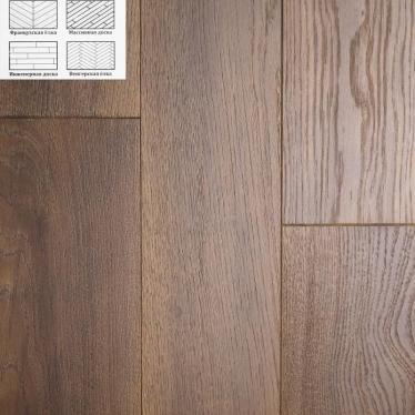 Массивная доска Winwood Oak Simon WW010 180 Рустик - купить в «Начни Ремонт» интернет-магазин — продажа напольных покрытий. - 2
