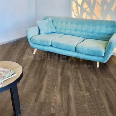 Виниловый ламинат Alpine Floor Дуб Рустикальный ЕСО3-8 - купить в «Начни Ремонт» интернет-магазин — продажа напольных покрытий.