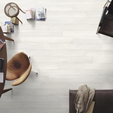 Ламинат Meister Дуб белый непрозрачный 6536 - купить в «Начни Ремонт» интернет-магазин — продажа напольных покрытий. - 9
