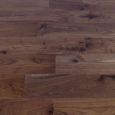 Массивная доска Magestik floor Орех Американский Натур - купить в «Начни Ремонт» интернет-магазин — продажа напольных покрытий. - 1