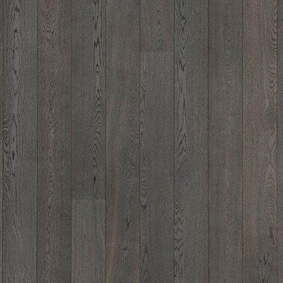 Паркетная доска Karelia Дуб Smoked Asphalt Grey
