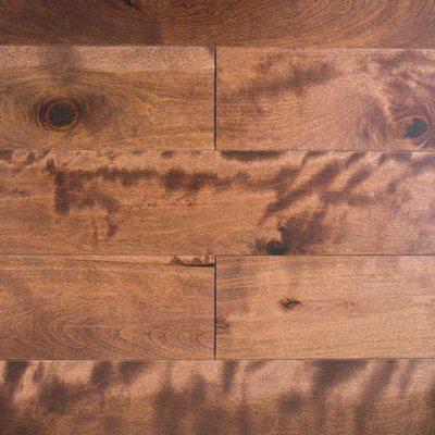 Паркетная доска Amber Wood Береза желтая Амбер