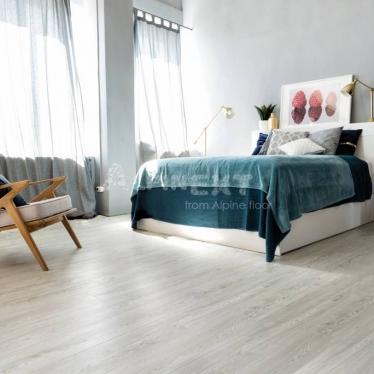 Виниловый ламинат Alpine Floor Дуб Арктик ЕСО3-1 - купить в «Начни Ремонт» интернет-магазин — продажа напольных покрытий. - 1