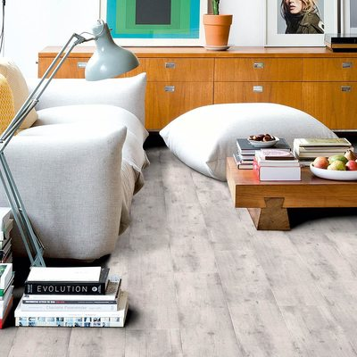 Ламинат Loc Floor Plus LCR73 Дуб Старый Серый