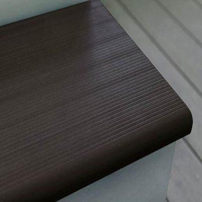 Террасная доска Ступени SaveWood Radix Тёмно-коричневый