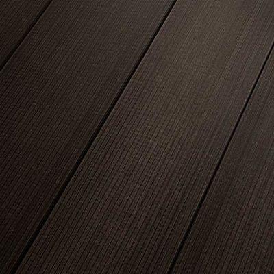 Террасная доска SaveWood Salix Тёмно-коричневый 4 м