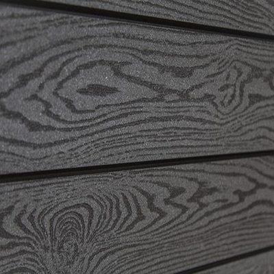 Террасная доска Сайдинг SaveWood Sorbus Тёмно-коричневый Тангенциальный
