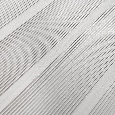 Террасная доска SaveWood Ulmus Бесшовная Белый Узкий Вельвет 6 м