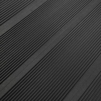 Террасная доска SaveWood Ulmus Бесшовная Чёрный Узкий Вельвет 6 м