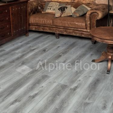 Виниловый ламинат Alpine Floor Дуб Гранит ECO7-8 - купить в «Начни Ремонт» интернет-магазин — продажа напольных покрытий. - 1